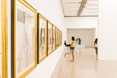 Mumok (Museum Moderner Kunst) Or Museum of Modern Art In Vienna Royalty Free Stock Photos
