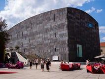 Mumok (Museum MOderner Kunst) in Wenen, Oostenrijk Stock Foto