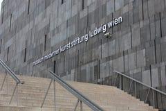 Mumokmuseum in Wenen Stock Foto's