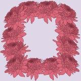 Mumram, blom- bakgrund Stock Illustrationer