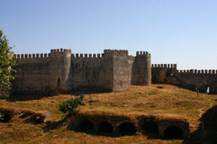 Mumure Castle -exterior towers Royalty Free Stock Image