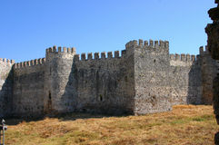 Mumure Castle -exterior towers Stock Photography