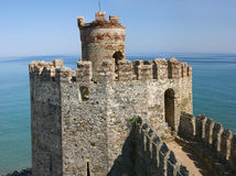 Mumure Castle Tower Royalty Free Stock Image