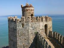 mumure wieży zamku Obraz Royalty Free