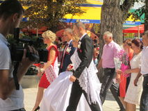 mun Balti Moldova foto de stock