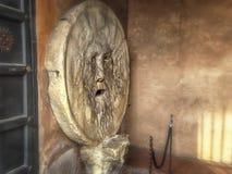Mun för Bocca dellaverita-The av sanning Royaltyfria Foton