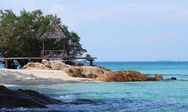 Mun Nork Island, Thailand. Mun Nork Island beach resort, Thailand Stock Photography