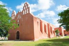 Muna Yucatan temple Stock Photos