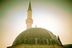 Munar и купол мечети стоковое изображение rf