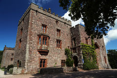 Muncaster城堡 库存照片