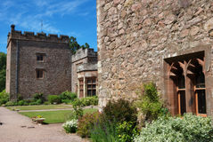 Muncaster Castle Royalty Free Stock Image