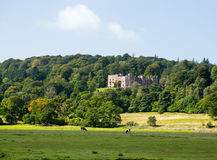 Muncaster Castle in Lake District Royalty Free Stock Photos