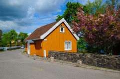 Munch's House. The house where famous painter Edvard Munch spent many summers Stock Images