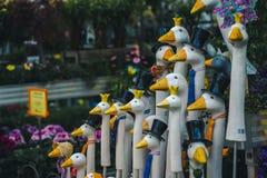 Munchen Ducks a decoração imagem de stock royalty free