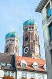Munchen Frauenkirche Royalty Free Stock Photos