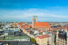 Munchen Frauenkirche Royalty Free Stock Photography