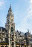 Munchen New Town Hall  Marienplatz Royalty Free Stock Photography