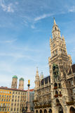 Munchen New Town Hall  Marienplatz Royalty Free Stock Photo
