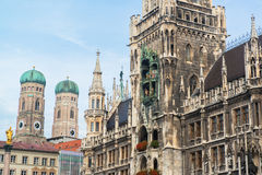 Munchen New Town Hall Marienplatz royalty free stock photos