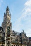 Munchen New Town Hall  Marienplatz. Germany Stock Image