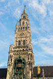 Munchen New Town Hall  Marienplatz Stock Photo