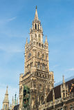 Munchen New Town Hall  Marienplatz. Germany Royalty Free Stock Photo