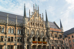 Munchen New Town Hall Marienplatz Royalty Free Stock Photos