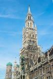 Munchen New Town Hall Marienplatz. Germany Royalty Free Stock Images