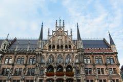 Munchen New Town Hall  Marienplatz. Munich, Germany Stock Photos