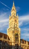 Munchen new town hall Royalty Free Stock Photography