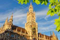 Munchen new town hall Stock Photo