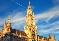 Munchen new town hall Royalty Free Stock Images