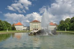 munchen nymphenburg pałac Obraz Royalty Free