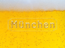 Munchen Oktoberfest beer background Royalty Free Stock Photos