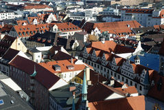 Munchen roofs Royalty Free Stock Photography