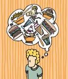 Munchies hambriento/alimentos de preparación rápida libre illustration