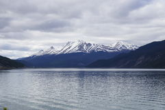 Muncho Lake Alaska Highway Canada Royalty Free Stock Image