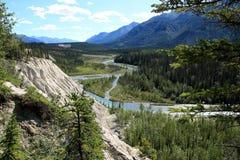 Muncho Lake Provincial Park Royalty Free Stock Photo