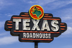 Muncie, IN - Circa August 2016: Texas Roadhouse Restaurant Location. Texas Roadhouse is a Legendary Steak Restaurant III. Texas Roadhouse Restaurant Location stock image