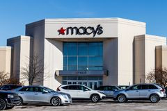 Muncie - Circa January 2018: Macys Department Store. Macy's, Inc. is one of the Nation's Premier Omnichannel Retailers. Macys Department Store. Macy's, Inc Stock Images