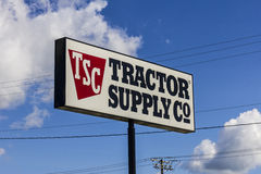 Muncie - Circa September 2016: Tractor Supply Company Retail Location. Tractor Supply is Listed on the NASDAQ under TSCO II Stock Photo