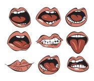 Mund Stockbilder
