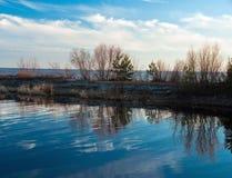 Mund des Flusses Stockfotos