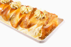 Dulce de Leche Kuchen Stockfoto