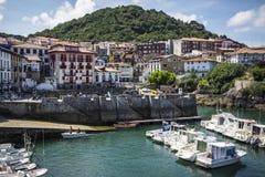Mundaca town Vizcaya Vasque Country Spain UNESCO Biosphere Reserve. Mundaca, Basque Country, Spain - July 26, 2016: Mundaca town Vizcaya Vasque Country Spain stock photography