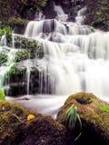 Mundang vattenfall i Petchaboon, Thailand Arkivbild