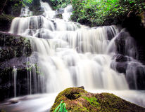 Mundang waterfall in Petchaboon, Thailand Royalty Free Stock Images