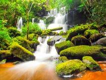 Mundang waterfall in Petchaboon, Thailand Royalty Free Stock Photo