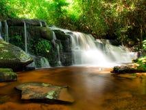 Mundang waterfall in Petchaboon, Thailand. 6th floor of Mundang waterfall in Petchaboon, Thailand stock photography