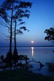 Munden Punkt-Park-Sonnenuntergang Lizenzfreie Stockbilder